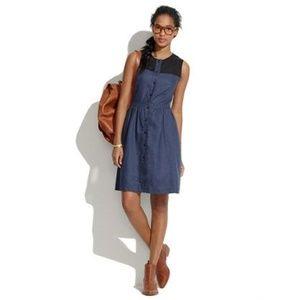 MADEWELL X RACHEL ANTONOFF Colorblock Sloane Dress